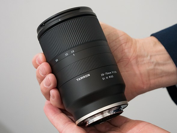 Tamron 28 75mm F 2 8 Di Iii Rxd Lens At Cp Show 2018