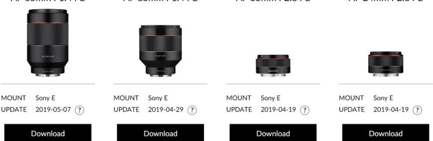 Firmware | Sony Camera Rumors